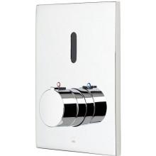 ORAS ELECTRA sprchová baterie 160x200mm, podomítková, senzorová, termostatická, vrchní díl, chrom