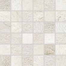 RAKO COMO mozaika 30x30cm, lepená na síťce, bílá