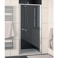Zástěna sprchová dveře Ronal ECO Line ECOP 0700 04 22 700x1900 mm bílá/Durlux AQ