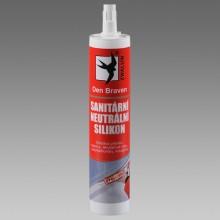DEN BRAVEN OXIM sanitární silikon 310ml, neutrální, transparentní