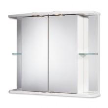 Nábytek zrcadlová skříňka Jokey Yabano II 77x65x23 cm bílá