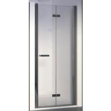 SANSWISS SWING LINE F SLF1D sprchové dveře 1000x1950mm pravé, dvoudílné skládací, aluchrom/čiré sklo