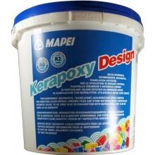 MAPEI KERAPOXY DESIGN spárovací hmota 3kg, dvousložková, epoxidová, 114 antracitová