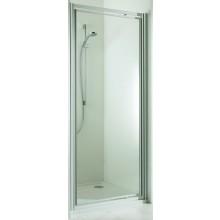 Zástěna sprchová dveře Huppe sklo 501 Design pure 1000x2000mm stříbrná matná/čiré AP