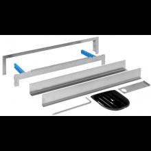 GEBERIT souprava pro kompletaci pro prvek pro sprchu 31,6cm, bez obložení, vícedílná, nerezová ocel 154.339.00.1