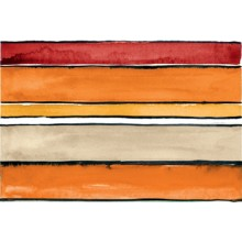 IMOLA SHADES STRIPES SUN MIX dekor 20x60cm, mix