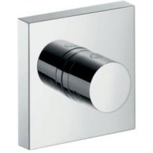HANSGROHE AXOR SHOWERSOLUTIONS ventil 120x120mm, uzavírací, s podomítkovou instalací, chrom