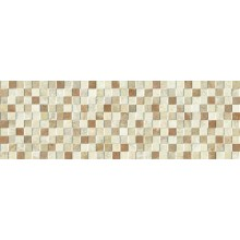 Dekor Marazzi Lithos Square Beige D768 mozaika 25x76cm hnědá
