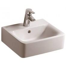 Umývátko klasické - s otvorem Concept Cube 40x36 cm bílá