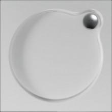 Čtvercová sprchová vanička VENUS se vyrábí ve třech rozměrech v provedení s hladkým povrchem.