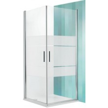 ROLTECHNIK TOWER LINE TCO1/900 sprchové dveře 900x2000mm jednokřídlé, brillant/transparent