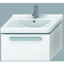 Nábytek skříňka pod umyvadlo Jika Cubito 35x42x59cm bílá-bílý lesklý lak