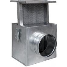 HS FLAMINGO filtr k ventilátoru 230x240x200mm, 150mm, do rozvodů teplého vzduchu, pozink