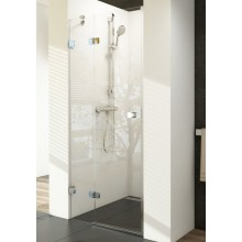 RAVAK BRILLIANT BSD2 90L sprchové dveře 900x1950mm dvoudílné, levé chrom/transparent