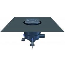 HL PRIMUS vpust DN50 sprchová, s bočním odpadem, polypropylen/nerez