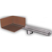 AZP BRNO PZ 014P.800 podlahový žlab 800mm, pro vložení kachliček, nerez ocel