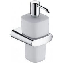 KEUCO ELEGANCE NEW dávkovač mýdla 220ml, s držákem, chrom/sklo