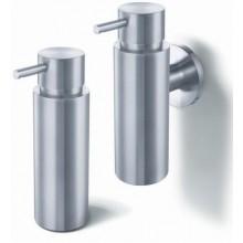 ZACK MANOLA dávkovač na tekutiny 175ml, Ø5cm, nástěnný, nerez ocel