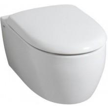 WC závěsné Keramag odpad vodorovný 4U včetně upevňovací sady pro skrytéupev.  bílá + KeraTect