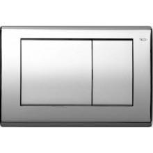 TECE BASE ovládací tlačítko 214x145mm, pro WC, dvoumnožstevní splachování, lesklý chrom
