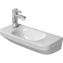 DURAVIT DURASTYLE umývátko 500x220mm bez přetoku, bílá/wonder gliss 07135000081