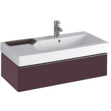 KERAMAG ICON skříňka pod umyvadlo 89x24x47,7cm závěsná burgundy lesklá 840291000