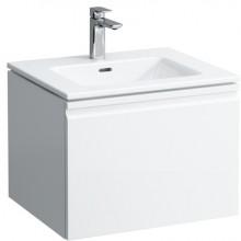 Nábytek skříňka s umyvadlem Laufen Pro S s jednou zásuvkou 60x50 cm bílá lesk