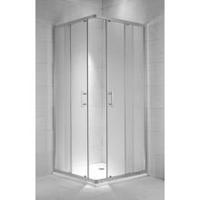 JIKA CUBITO PURE sprchový kout 1000x1000x1950mm čtvercový, transparentní