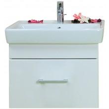 CONCEPT 200 skříňka pod umyvadlo 54,5x39,2x43,4cm závěsná s 1 zásuvkou, bříza/bílá