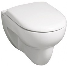 WC závěsné Keramag odpad vodorovný Renova Nr.1 s plochým splachovaním 6 l bílá