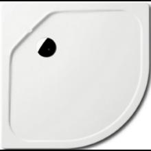 KALDEWEI FONTANA 586-1 sprchová vanička 900x900x65mm, ocelová, čtvrtkruhová, R520mm, bílá
