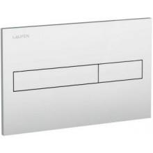 LAUFEN AW1 splachovací tlačítko, dual flush, bílá