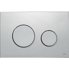 TECE LOOP ovládací tlačítko 216x145mm, dvoumnožstevní splachování, matný chrom