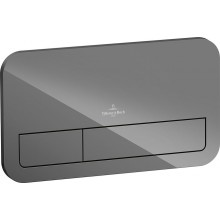 VILLEROY & BOCH VICONNECT M200 ovládací tlačítko 269x13x161mm, Glass Glossy Grey