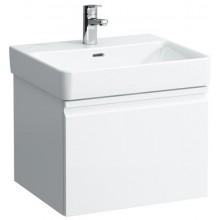 LAUFEN PRO S skříňka pod umyvadlo 520x450x392mm, se zásuvkou a vnitřní zásuvkou, bílá lesk