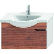 JIKA MIO umyvadlová skříňka pro nábytkové umyvadlo 810x340x505mm 1 zásuvka, bílá/ořech 4.3414.1.171.506.1