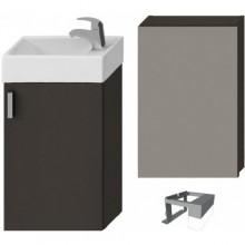 JIKA PETIT nábytková sestava 386x221x585mm, šedá/šedá