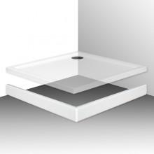 ROLTECHNIK FLAT KVADRO 800 čelní panel 800mm, čtverec, krycí, akrylátový, bílá