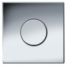 GEBERIT ovládání splachování pisoárů Sigma 01, 13x13cm, pneumatické ruční, chrom mat 116.011.46.5
