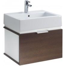 KOLO TWINS koupelnová sestava umyvadlo 60cm a skříňka pod umyvadlo, korpus: bílý, čelní plocha wenge L59029000