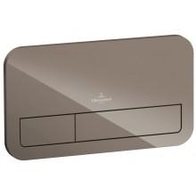 VILLEROY & BOCH VICONNECT M200 ovládací tlačítko 269x13x161mm, Glass Glossy Terra