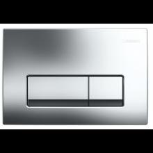 GEBERIT DELTA 51 ovládací tlačítko 24,6x16,4cm, pochromovaná lesklá 115.105.21.1