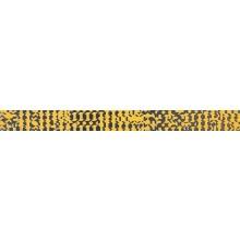 RAKO TRINITY listela 40x3,5cm, oranžová