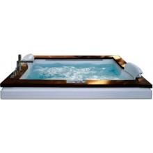 JACUZZI AURA PLUS masážní vana 1800x1500x660mm, bílá
