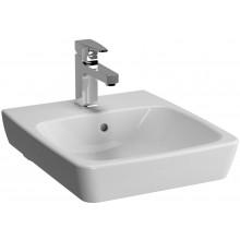 Umývátko nábytkové Vitra s otvorem Metropole s přepadem 40x46 cm bílá