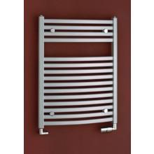 Radiátor koupelnový PMH Marabu 600/1233 792 W (75/65C) metalická stříbrná 29/70587