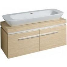 KERAMAG SILK skříňka pod umyvadlo 120x40cm s umyvadlovou deskou, bílá lesklá 816022000