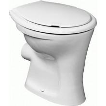 WC mísa Ideal Standard odpad vodorovný Ulysee, zvýšená (45 cm), ploché splachování  bílá
