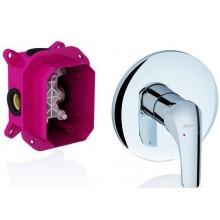 Baterie sprchová Ravak podomítková páková Rosa RS 066.00 bez přepínače  chrom