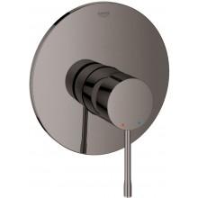 GROHE ESSENCE sprchová baterie 163mm, podomítková, páková, vrchní díl, Hard Graphite